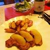 豚肉とリンゴのソテー 蜂蜜風味