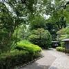 静かな日本庭園。。