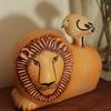 リサラーソンの陶器の置物、ライオンと鳥をついに手に入れました