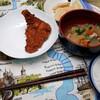 夕食:フライドチキン、糠漬けたくあん、仙崎かまぼこなど自分が作ってないもので…