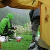 雨の日のキャンプの過ごし方(自転車旅の場合)