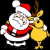 世間はクリスマスムード