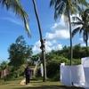 スリランカでアーユルヴェーダ12 チャクラマッサージ、ヤシの木のぼり、お別れ