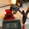 マジェスティ4D9のポジションランプの点灯試験