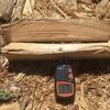 薪の含水率【1年乾燥では】