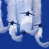 『ブルーインパルス』が18日に防衛大学校の上空を祝賀飛行!!上空に来るのは13時42分~57分頃の予定!!