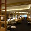 ユナイテッド航空のラウンジ「ユナイテッドクラブ」(成田空港)。ANAのSFC資格で利用可能。