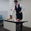 ブレケル・オスカル氏 「日本茶を楽しむ会」