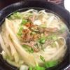台湾!柔らかくてうまい!豚頭肉の麺料理