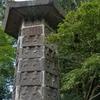 70体以上の石仏が刻まれる仏塔 大分県武蔵町麻田