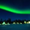 カナダ北部の「イエローナイフ」でオーロラを観たいという夢
