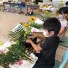 伝統文化こども花教室足利 2回目