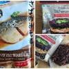 タイのファミマで「さばの味噌煮」と黒もち米の「ライスバーガースパイシーチキン」を買ってみた。