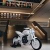真っ白いバイク?トライアンフがプロトタイプを発表♪