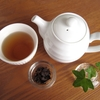 【ほうじ茶フラペチーノ風を作ってみました】ほうじ茶ラテにもみの木の甘露蜜が合ったので、調子に乗ってフラペチーノ風です