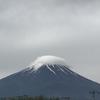 富士山の帽子と夢ちゃんのお散歩