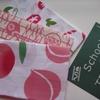 桃、朝顔、西瓜・・・季節柄のてぬぐい。