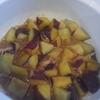 食育【保育園の芋掘り】調味料はオール1で覚えやすい。さつまいもとツナの煮物レシピ「さつまいも祭り」②