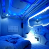 ウラジオストクの宇宙船ホテル、カプセルホテルゾディアックがおすすめ。