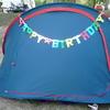 ☆3歳の誕生日はテント生活で!