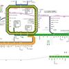 JR西日本 近畿エリア① 運行系統図