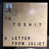 RECORD 76 CANYON RECORDS TO TOSHI.T A LETTER FROM JULIET