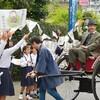 漱石先生 来熊120年で歓迎式
