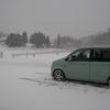 大晦日は少々悪天候でしたが吹雪く程ではなく降り続いています⛄