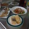 幸運な病のレシピ( 1927 )朝:鮭、スケソウダラの醤油つけ、豚バラ炒め、ニラ卵スープ、マユのご飯