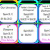 4次実Clifford代数, Spin(5,1), Spin(3,3)