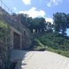 韓国旅行二日目(2)。ユネスコ世界遺産、公山城。外壁上を一周