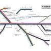 名古屋鉄道 運行系統図