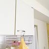 キッチン収納公開1。コの字ラックと雑誌の付録でスッキリさせたキッチン棚
