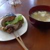 幸運な病のレシピ( 306 )夜:餃子、レバ焼き、汁