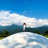 大きなオニフスベでジャーンプ! ふわふわドーム