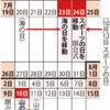 東京オリンピック延期で来年の祝日を移動!今年の祝日は変更なし!