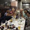 ネパ-ル滞在日記 第55回 元大家さんと現在の大家さん、7人でネパ-ルの日本食レストランへ