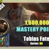 Gangplank Main - Tobias Fate 1.60 Million Mastery points!!!