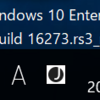 Windows10 Build 16273でました。