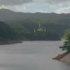 やんばる安波ダム湖上20メートルか、県民の水源であるダムの上を低空旋回の米軍ヘリ
