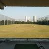 ゴルフに行きました。