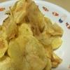 揚げずに焼く!フライパンでポテトチップスを作ってみた