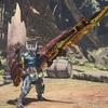 MHW:「ガイラバスター・王」で業物付けた溜め砲撃型のゾンビガンス作ってみた。