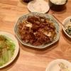 回鍋肉、ほうれん草の白和え、白菜のお浸し
