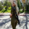 世界最強の美女、イスラエルの女性兵士