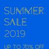SUMMER SALE 2019!