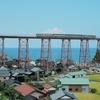 余部鉄橋とその付近①:兵庫県美方郡