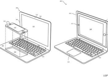 ノートPCにiPhoneをはめ込むとMacBookになる?