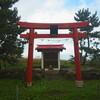 厳島神社への道
