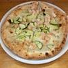 🚩外食日記(431)    宮崎ランチ   「ラ フォルトゥーナ (La Fortuna)」③より、【茄子のボロネーゼ】【エビとズッキーニのピザ】‼️